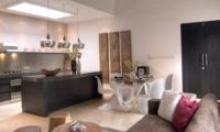Kitchen and Dining Area - Villa Lanai Residence - Seminyak, Bali