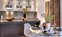 Indoor Kitchen and Dining Area - Villa Lanai Residence - Seminyak, Bali