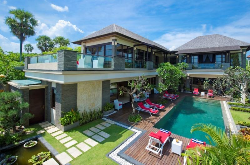 Gardens and Pool - Villa Lega - Seminyak, Bali