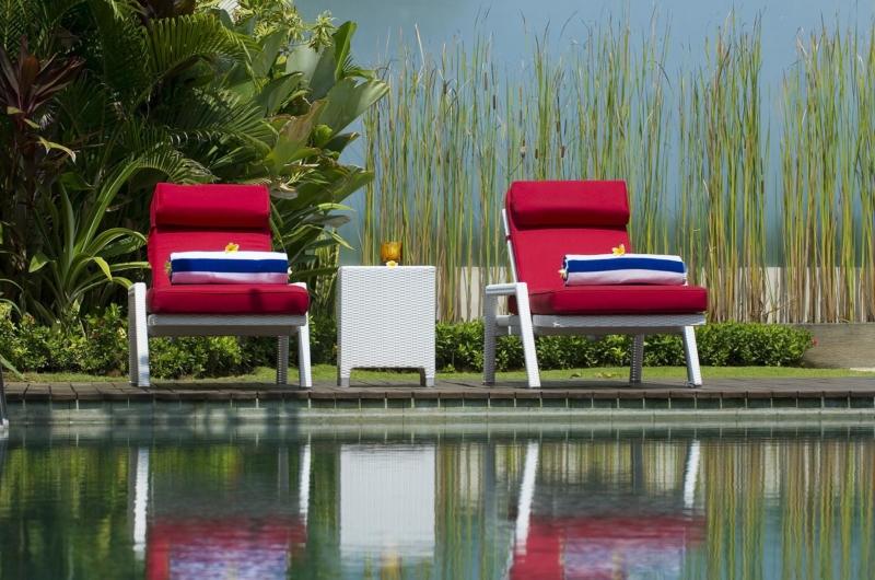 Sun Beds - Villa Lega - Seminyak, Bali