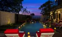 Pool at Night - Villa Lega - Seminyak, Bali