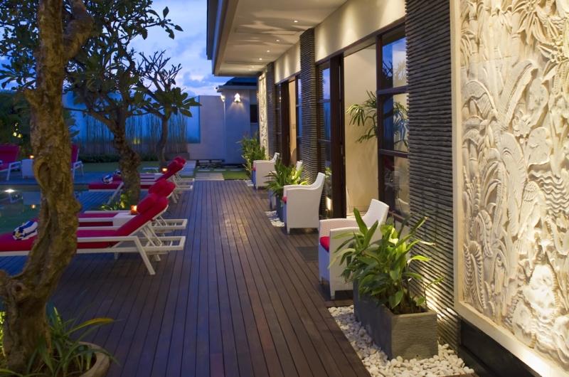 Pool Side Loungers - Villa Lega - Seminyak, Bali