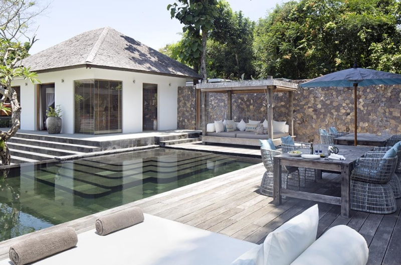 Pool Side Dining - Villa Levi - Canggu, Bali