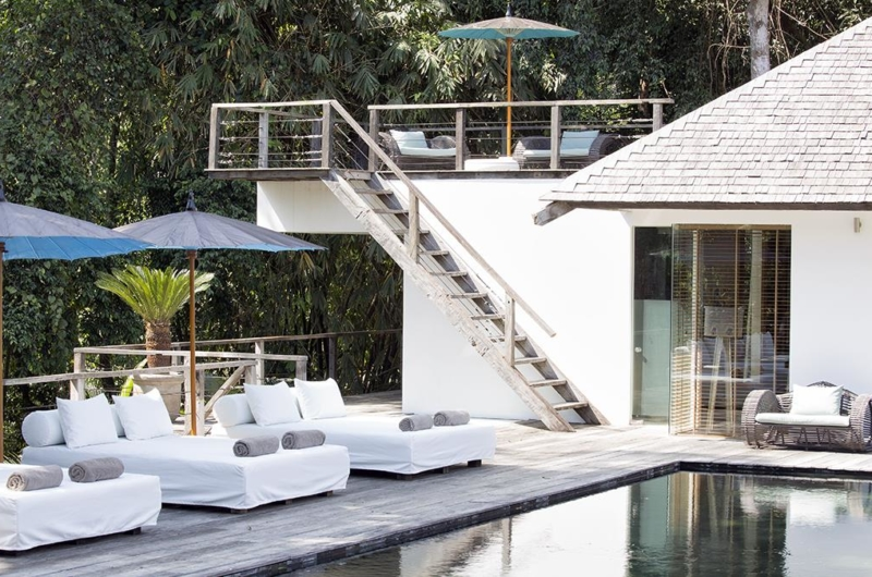 Swimming Pool with Up Stairs - Villa Levi - Canggu, Bali