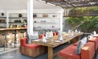 Dining Area - Villa Levi - Canggu, Bali