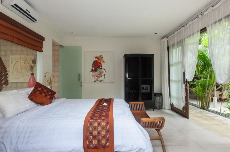 Bedroom with View - Villa Liang - Batubelig, Bali