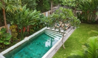 Pool View from Top - Villa Liang - Batubelig, Bali
