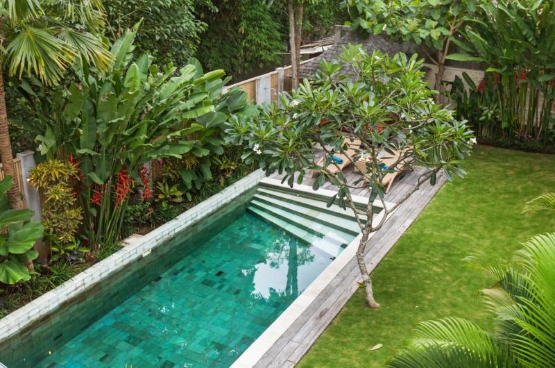 Pool View from Top - Villa Liang - Batubelig, Bali