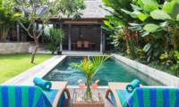 Reclining Sun Loungers - Villa Liang - Batubelig, Bali