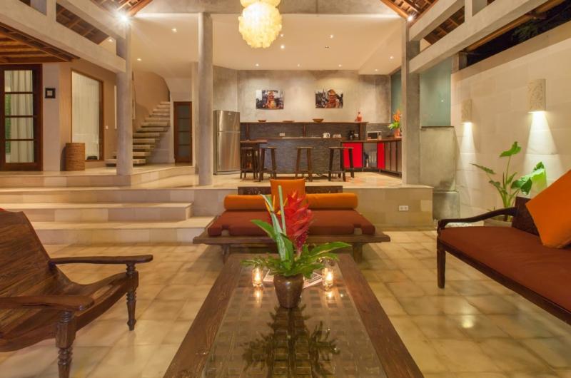 Living Area - Villa Liang - Batubelig, Bali