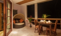 Dining at Night - Villa Liang - Batubelig, Bali