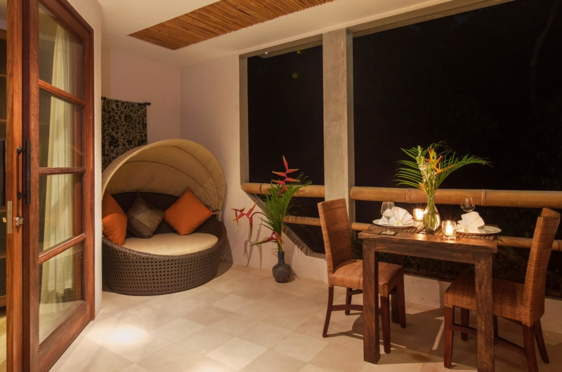 Dining at Night - Villa Liang - Batubelig, Bali