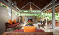 Indoor Living Area - Villa Liang - Batubelig, Bali