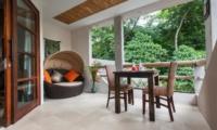 Dining Area with View - Villa Liang - Batubelig, Bali