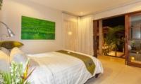 Bedroom at Night - Villa Liang - Batubelig, Bali