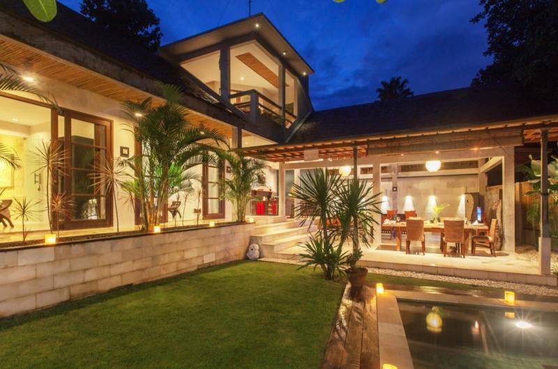 Night View - Villa Liang - Batubelig, Bali