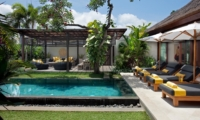 Pool Side Loungers - Villa Lilibel - Seminyak, Bali