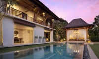 Pool at Night - Villa Lilibel - Seminyak, Bali