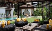 Outdoor Seating Area - Villa Lilibel - Seminyak, Bali