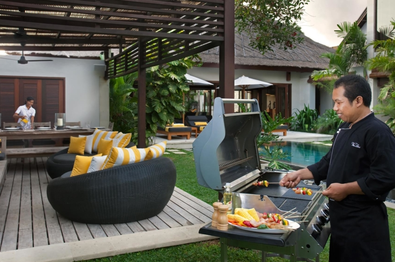 Outdoor Barbeque with Chef - Villa Lilibel - Seminyak, Bali