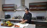 Kitchen with Chef - Villa Lilibel - Seminyak, Bali