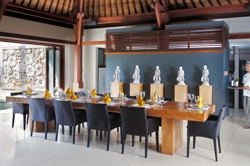 Dining Area - Villa Lilibel - Seminyak, Bali