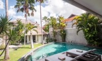 Pool Side Loungers - Villa Lisa - Seminyak, Bali