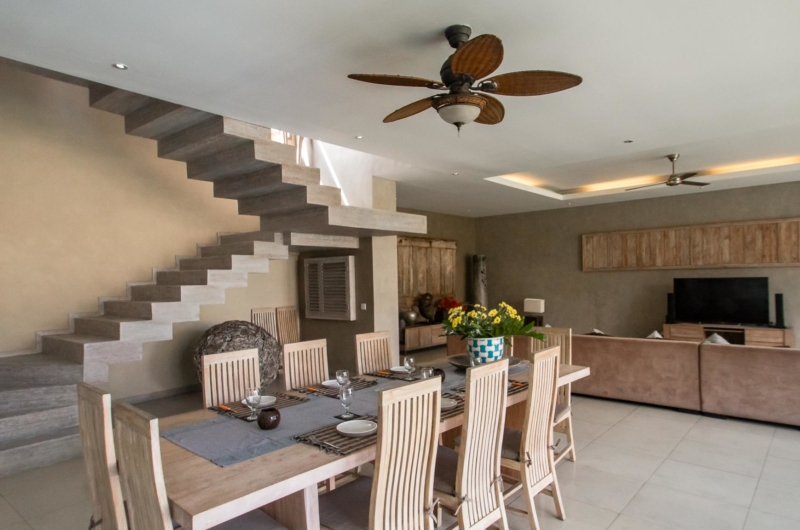 Dining Area with Up-Stairs - Villa Lisa - Seminyak, Bali