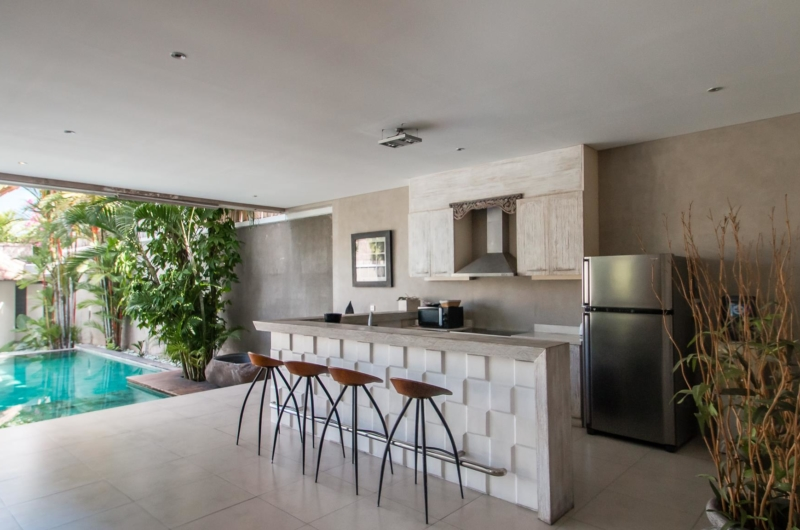 Kitchen with Pool View - Villa Lisa - Seminyak, Bali