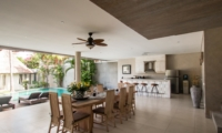 Dining Area with Pool View - Villa Lisa - Seminyak, Bali