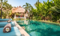Pool Side Loungers - Villa Little Mannao - Kerobokan, Bali