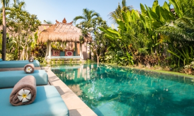 Pool Side Loungers - Villa Little Mannao - Kerobokan, Bali