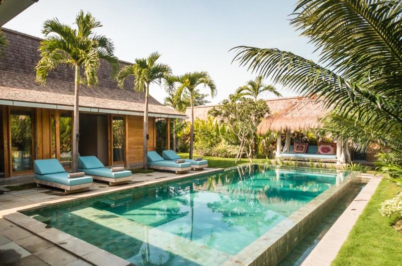 Pool Side - Villa Little Mannao - Kerobokan, Bali