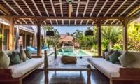 Pool Side Lounge - Villa Little Mannao - Kerobokan, Bali