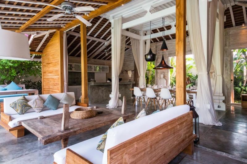 Living Area - Villa Little Mannao - Kerobokan, Bali