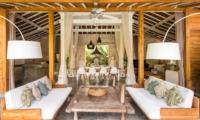 Living and Dining Area - Villa Little Mannao - Kerobokan, Bali
