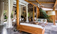 Indoor Living and Dining Area - Villa Little Mannao - Kerobokan, Bali