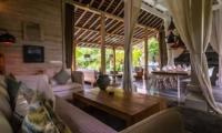 Indoor Living Area - Villa Little Mannao - Kerobokan, Bali