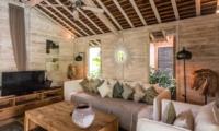 Lounge Area with TV - Villa Little Mannao - Kerobokan, Bali