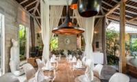 Dining Area with Crockery - Villa Little Mannao - Kerobokan, Bali