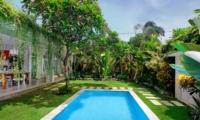 Gardens and Pool - Villa Lodek Deluxe - Seminyak, Bali