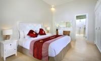 Bedroom with Table Lamps - Villa Lodek Deluxe - Seminyak, Bali