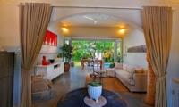 Indoor Living Area - Villa Lodek Deluxe - Seminyak, Bali