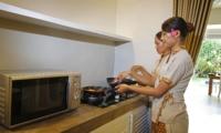 Kitchen with Staff - Villa Lodek Deluxe - Seminyak, Bali
