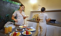 Kitchen with Food - Villa Lodek Deluxe - Seminyak, Bali