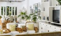 Living Area with TV - Villa Lulito - Seminyak, Bali