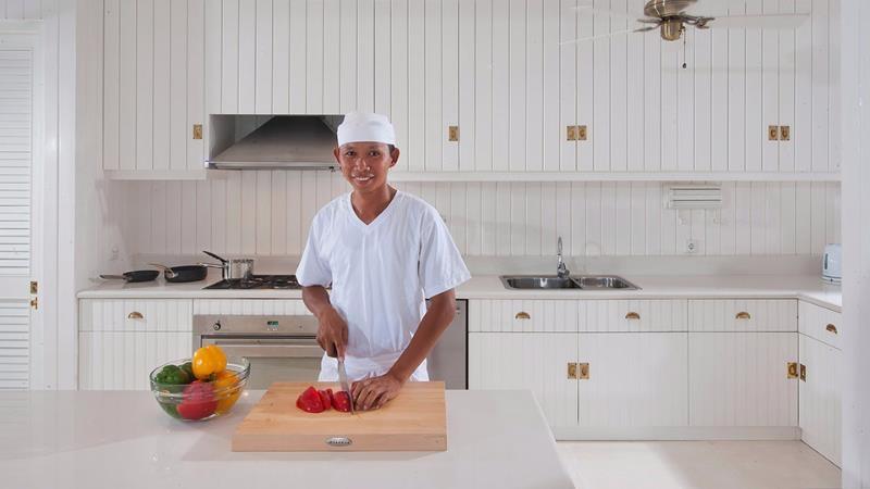 Kitchen with Chef - Villa Lulito - Seminyak, Bali
