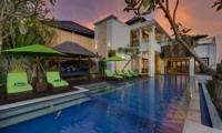 Pool Side Loungers - Villa Luwih - Canggu, Bali