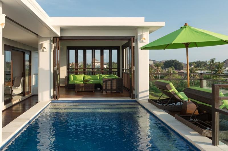 Pool Side - Villa Luwih - Canggu, Bali