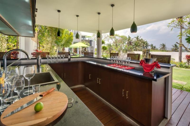 Bar Counter - Villa Luwih - Canggu, Bali